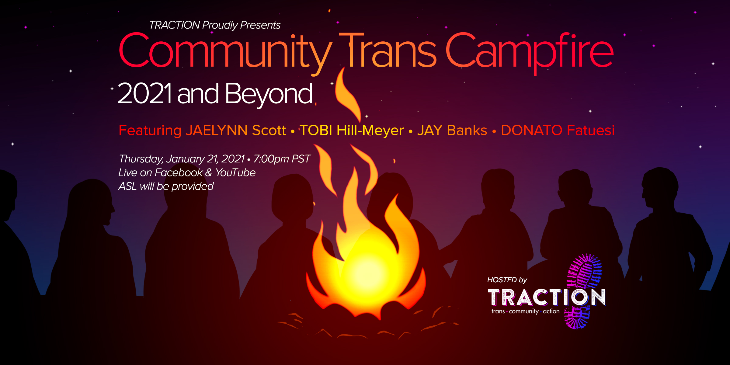 Community Trans Campfire: 2021 and Beyond