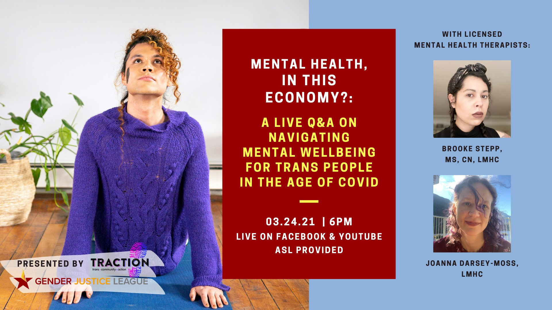 Mental Health, in THIS Economy?: A Live Q&A On Mental Wellbeing for Trans People Amidst COVID