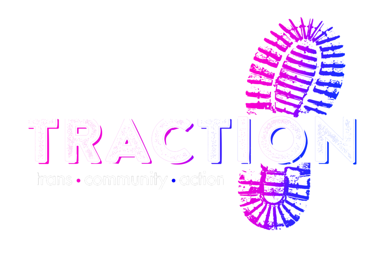TRACTION • trans • community • action